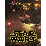 Coloring for kids Star Wars: Great coloring book for kids in an A4 50 page book. Great scenes to color with all your favourite characters. So what you waiting for go grab them pencils. Age 5+