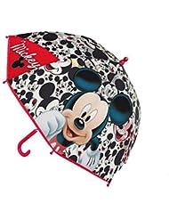 MICKEY - Paraguas mananual burbuja de Mickey Mouse bts16