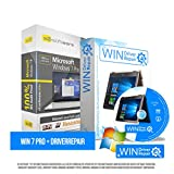 Microsoft® Windows 7 Professional (PRO) + Driverrepair & Bootup für Windows. Original-Lizenz. 32 bit & 64 bit. Deutsch+ML. Audit Sicher, S2-ISO DVD, CLP Zertifikat