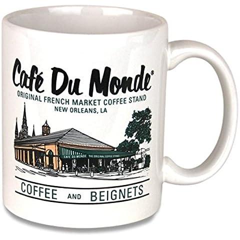 Cafe Du Monde Colorful Coffee Mug by Cafe Du Monde