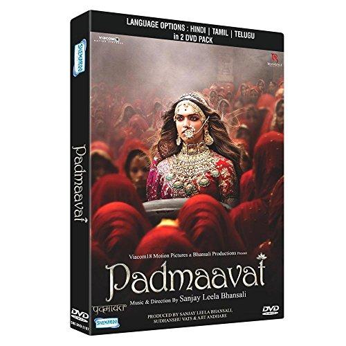 PADMAAVAT Film ~ 2 DVD Pack ~ Bollywood ~ Ranvir Singh, Deemika Padukone, Shahid Kapoor ~ Hindi mit englischem Untertitel ~ India ~ 2018 ~ Original SHEMAROO DVD ~ verkauf nur über Bollywood 24/7