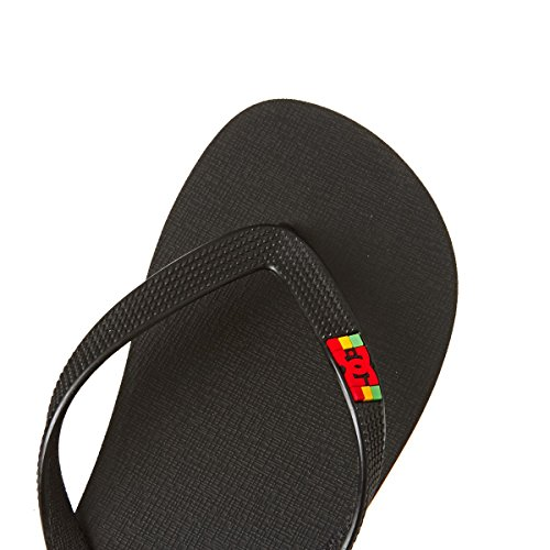 DC Shoes Herren Spray Zehentrenner Black