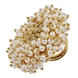Muchmore 22K Gold Plated Beautiful Pearl Beads Made...