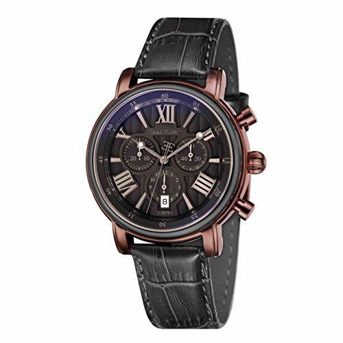 Thomas Earnshaw Unisex-Armbanduhr Chronograph Quarz ES-0016-08 Rose gold