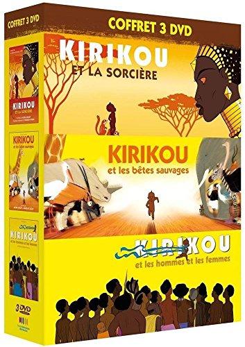 COFFRET 2013 l'intégrale KIRIKOU (et la sorcière + et les bêtes sauvages + et les hommes et les femmes)
