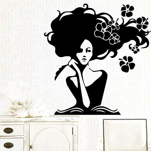 jiuyaomai Lustige Belle Wandaufkleber Personalisierte Kreative Für Kinderzimmer WohnzimmerWohnkultur WandkunstAufkleber WandbilderXL 58 cm X 60 cm