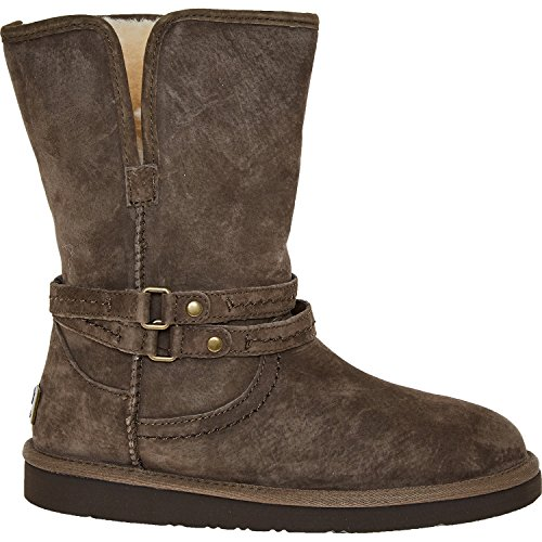 UGG-Brown-Suede-Palisade-Ankle-Boots