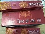 Qaromas Balaji Agarbathi Árbol de la Vida - Tree of Life 12x15g