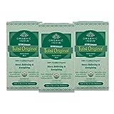 Organic India Tulsi Tea Original 25 Tea Bags - By Organic India (Pack of 3)
