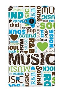 DailyObjects Music Type Case For Nokia Lumia 720 (Back Cover)