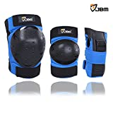 JBM Adult / Kids Child Youth Knee Pads Elbow Pads Wrist Guards Protective Gear Set for Inline Roller Skating Biking Cycling Scooter Skateboard BMX Mountain Bike Inline Skating Extreme Sports (Misc.)