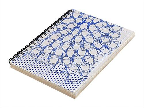 storeindya Notizbuch Gebunden Spiralblock Tagebuch Verdrahtet Reisenotizbuch Skizzenbuch Notizblock Leeres Buch Hauptbuch Planer Geschenke - Zeitschrift Zeichnung Täglich