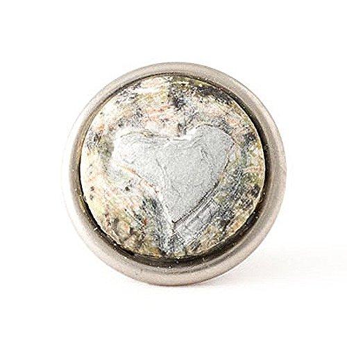 Noosa petite Chunk Guardian Angel - Heart green/silver-green/agathe