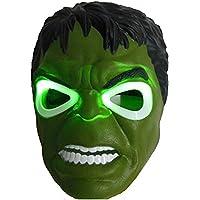 HALO NATION® Superhero The Avengers Costume LED Light Eye Mask - Hulk Mask