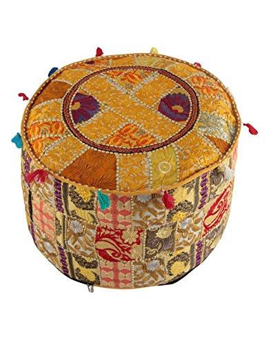 Indian Vintage ottomindian Vintage osmanischen Pouf Cover Hippie Wohnzimmer Room Decor Boho Decor...
