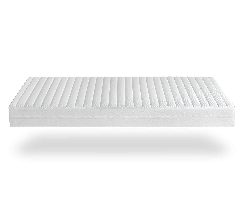 Träumegut24 - AquaFlex 16cm Wellness Kaltschaummatratze - 7-Zonen Matratze - Härtegrad H2 / H3 - ÖkoTex Rollmatratze (90…