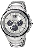 SEIKO-- COUTURA GENTS CHRONOGRAPH STAINLESS STEEL BRACELET WATCH