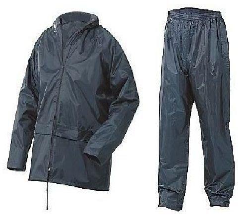Mountain Pass Mens Waterproof Set Mens Waterproof Rain Coat Kagool Jacket Coat & Trouser Trousers Bottoms Set Suit Work…