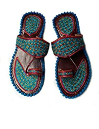 Rajasthani Hand Made Fancy Kashida Chappal for Girls & Ladies