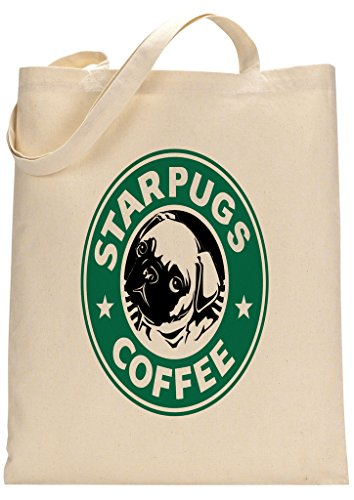 pug-starbucks-parody-custom-made-tote-bag