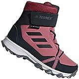 adidas Terrex Snow Cloudfoam CP Climawarm, Unisex-Kinder Trekking- & Wanderstiefel, Rot (Tramar/Carbon/Reamag Tramar/Carbon/Reamag), 35 EU (2.5 UK)