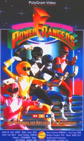 Power Rangers 03 - Das Geheimnis der Kristalle/Die Entführung [VHS]