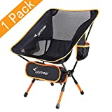 Chaise de Camping, Sportneer Portable Léger Pliable Camping Chaise pour Backpacking/...