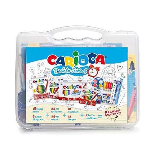 Carioca - Maletín para colorear Back to School