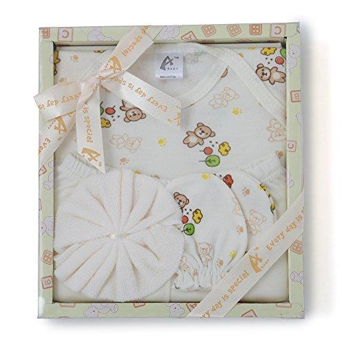 Advance Baby Stuff Jam Gift Set (Yellow, 4 Pieces)
