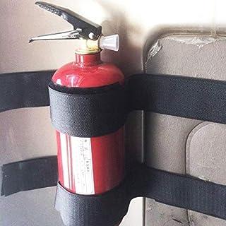 Cozywind 5 Stück/Set Auto Kofferraum Magic Tapes zum Fixieren von Feuerlöscher Auto Klettverschluss Aufbewahrung Zubehör