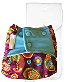 #10: Superbottoms Cloth Diaper - Pocket Diaper with Double-Leak Guards and Soaker (Insert) (Utsav)