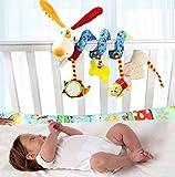 Buweiser Bunt Babyspielzeug Kleinkindspielzeug Plüschtiere Kindererwagenkette Spirale Spielzeug für Babyschale Kindererwagen Kindererbetten