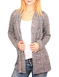 Ella Manue Frauen Cardigan Strickjacke Paula
