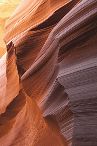 Carnet de Notes: Petit journal personnel de 121 pages blanches avec couverture « Antelope Canyon - Canyon de l'Antilope » par Virginie Polissou