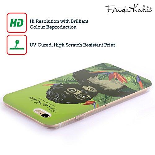 Offizielle Frida Kahlo Monkey Tropisch Soft Gel Hülle für Apple iPhone 5 / 5s / SE Monkey