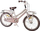 Bici bicicletta bambina 18 pollici portapacchi rosa perlato