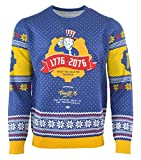 Fallout 76 Christmas Jumper Vault 76 Boy Logo Nue offiziell PS4 Xbox Knitted