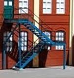 Auhagen 80101.0 - Außentreppe, 65 x 30 x 70 mm, bunt