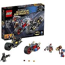 Legos de Batman y su moto en la persecuci�n. Incluye dos motos