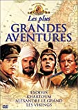 Coffret Aventures 4 DVD : Exodus / Khartoum / Alexandre le Grand / Les Vikings