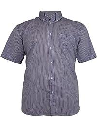 2c28a181027 Cotton Valley Mens Big Size Casual Striped Formal Shirt 3XL 4XL 5XL 6XL 7XL  8XL