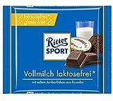 Ritter Sport Vollmilch Laktosefrei, 1er Pack (1 x 100 g)