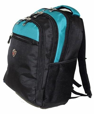 38,1cm 40,6cm iPad Sac à dos pour ordinateur portable A4Collège Camping Randonnée Sac à dos bagage à main, Mixte enfant Adulte Unisexe, bleu, À main
