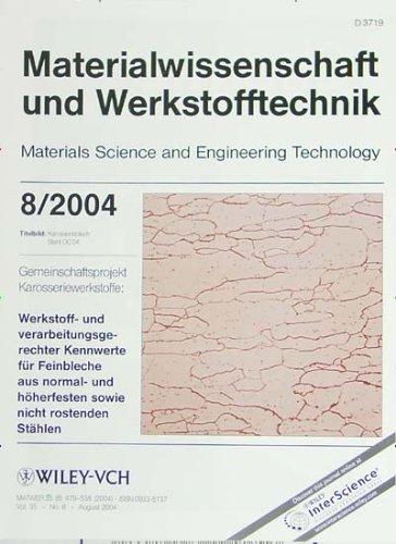 Materialwissenschaft und Werkstofftechnik