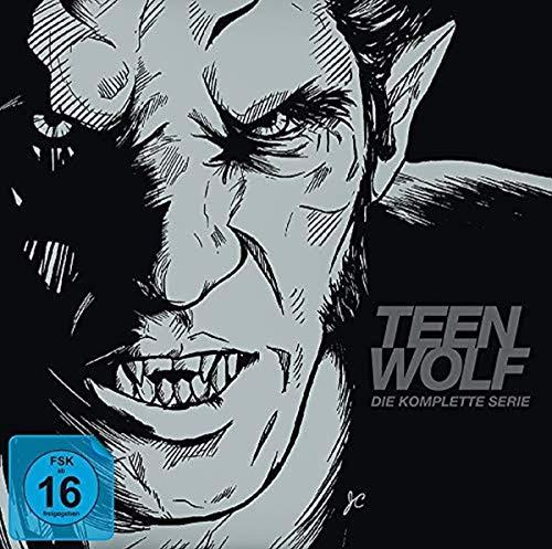 Teen Wolf - Staffel 1-6 (Die komplette Serie als Book-Edition) (Limited Edition) [34 DVDs]