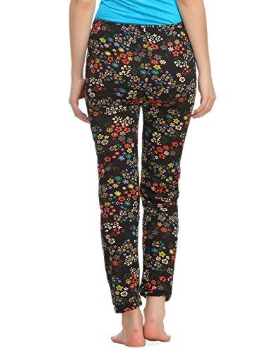 CLOVIA pyjama en coton noir Noir - Noir