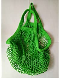 Imported And New Versla Reusable Grocery Produce Bags Cotton Mesh Ecology Market String Net Shopping Tote Bag - B075XK19L2