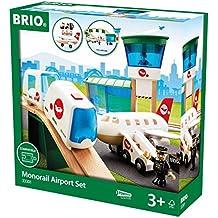 Brio - Set circuito de monorraíl en aeropuerto (33301)