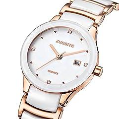 Idea Regalo - moda forma femminile studente/ ragazze al quarzo/Semplice impermeabile ladies Bracelet Watch-A
