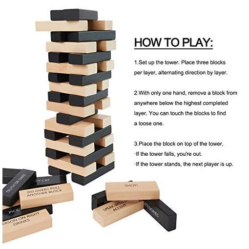 Lewo-54-Stcke-Trinkspiele-mit-36-Unterschiedlichen-Regeln-und-Spiele-fr-Erwachsen-Partyspiel